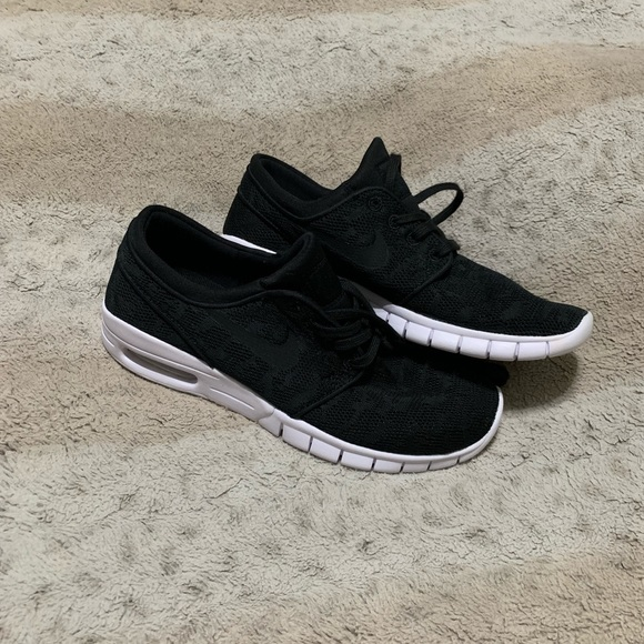 Nwot Nike Sb Stefan Janoski Max 2 Black